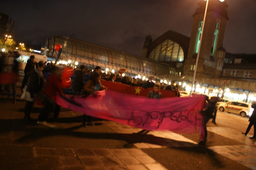 Demontratio: I ♥ BLEIBERECHT!