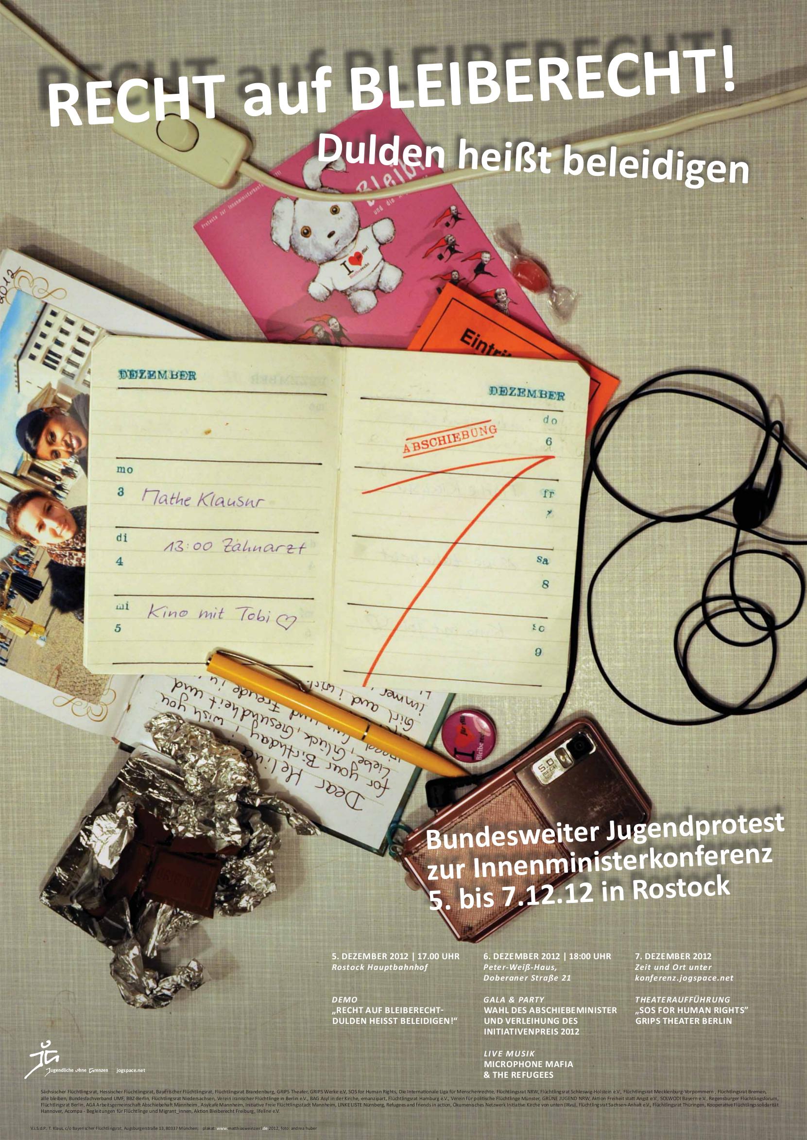 10. JOG Konferenz Rostock – 4. – 7.12.2012