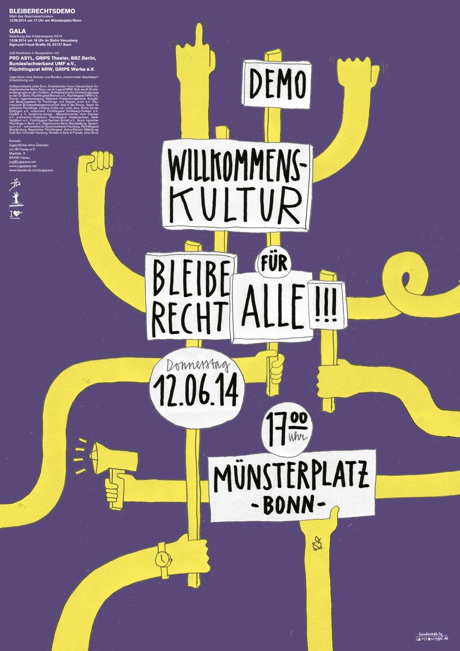 Münxterplatz 12.06-14 um 17 Uhr