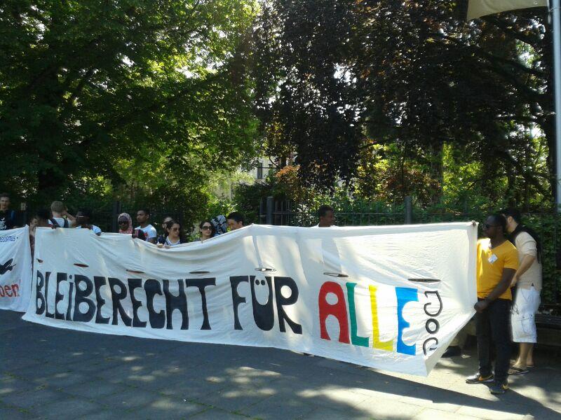 JOG Spontan-Demo in der Nähed der Villa Hammerschmidt do 12.06.14 um 14:00 Uhr